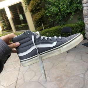 Vans Old Skool Hi Tops Grey